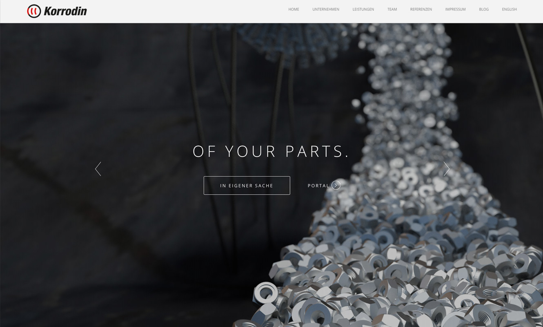 Screenshots zeigen Relaunch der neuen Internetseite