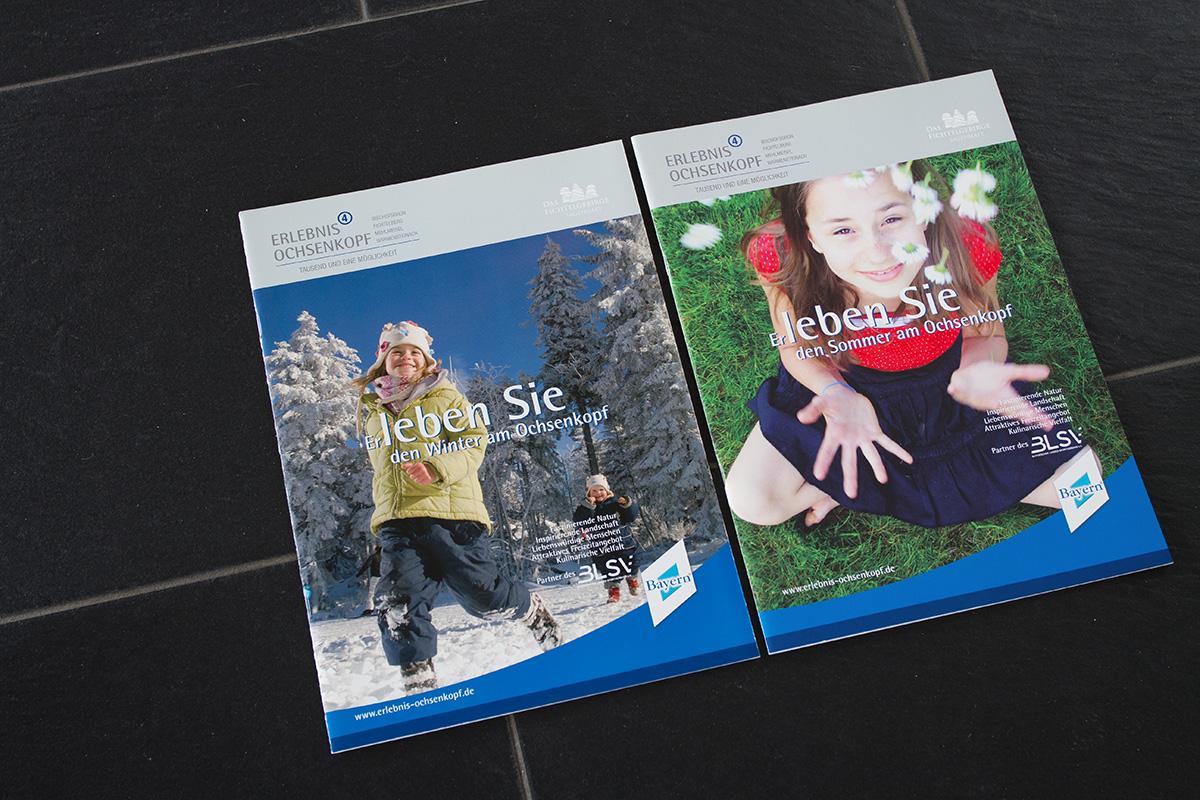 Editorial Design am Beispiel der Sommerbroschüre und der Winterbroschüre