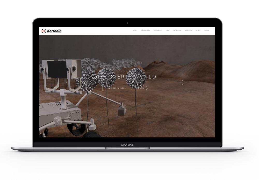 Website Relaunch, UI / UX Design, einfach ist besser