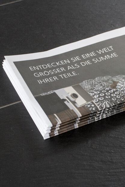 Kundenzeitung Nahaufnahme mit 3D Visualisierung als Titelbild