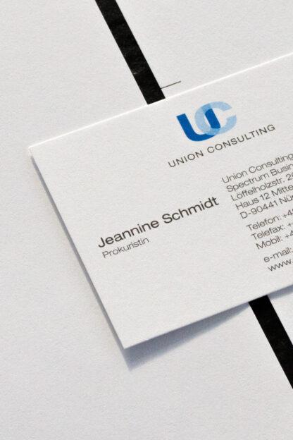 Logo Design am Beispiel Union Consulting