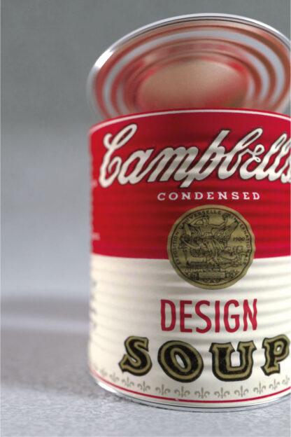 3D-Rendering von Warhols Design Soup