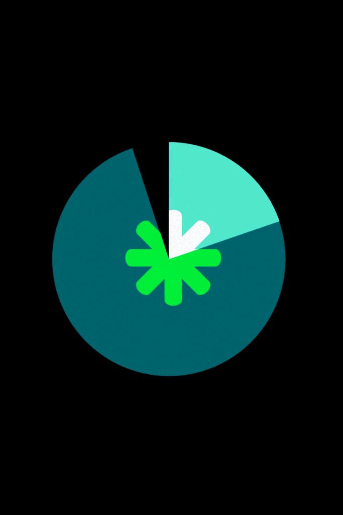 Screenshot corporate gif grün und weiss