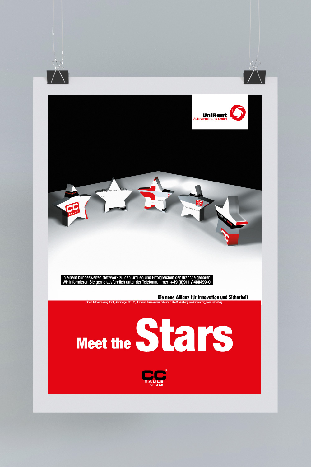 B2B Kampagne: Meet the stars