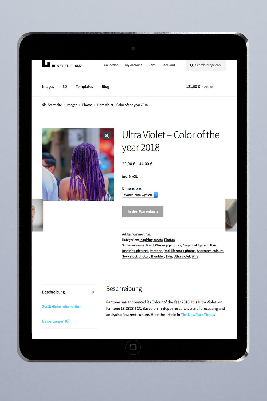 Wordpress Website mit Online Shop in Woocommerce nach deutschem Recht