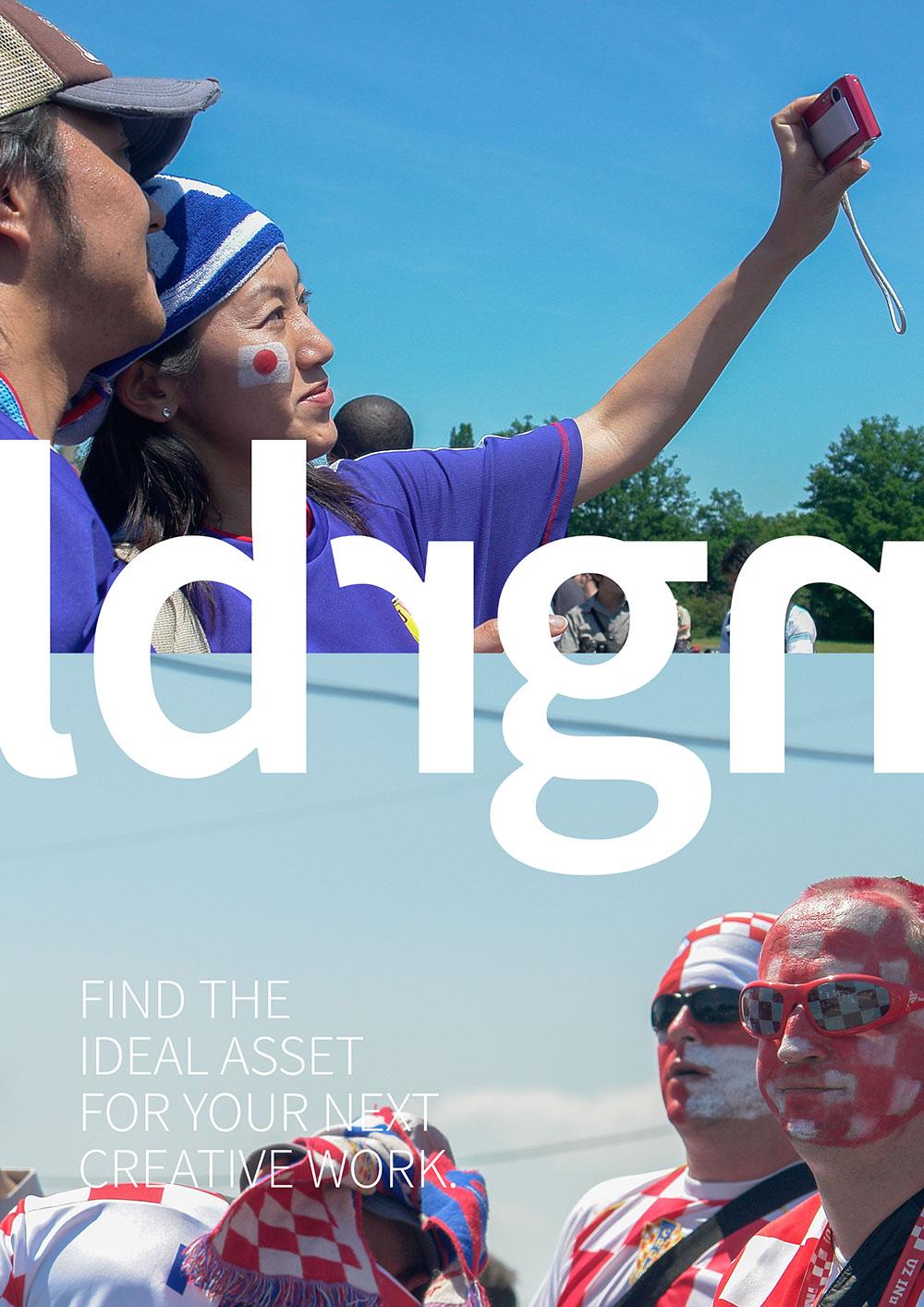 Corporate Design Anzeige entwickelt OINO