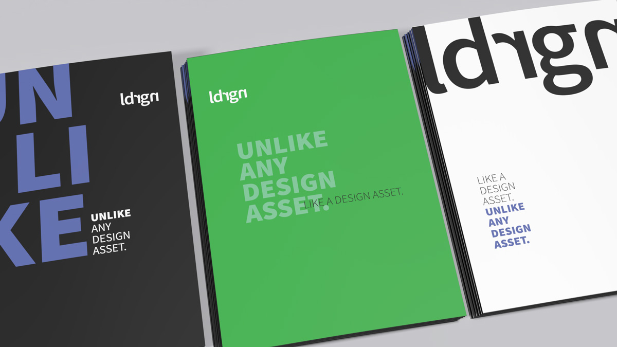 Portfolio verschiedener Corporate Identity Elemente der Werbeagentur OINO