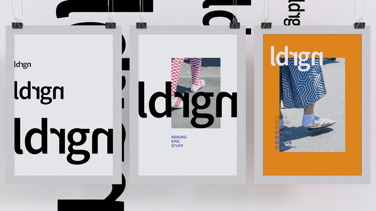 Zusammenstellung verschiedener Corporate Design Elemente