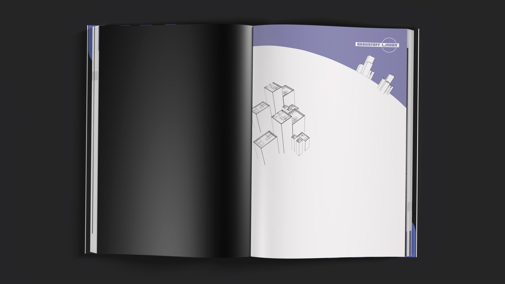 Gebundene Ausgabe des Portfolios der Brand Agentur OINO