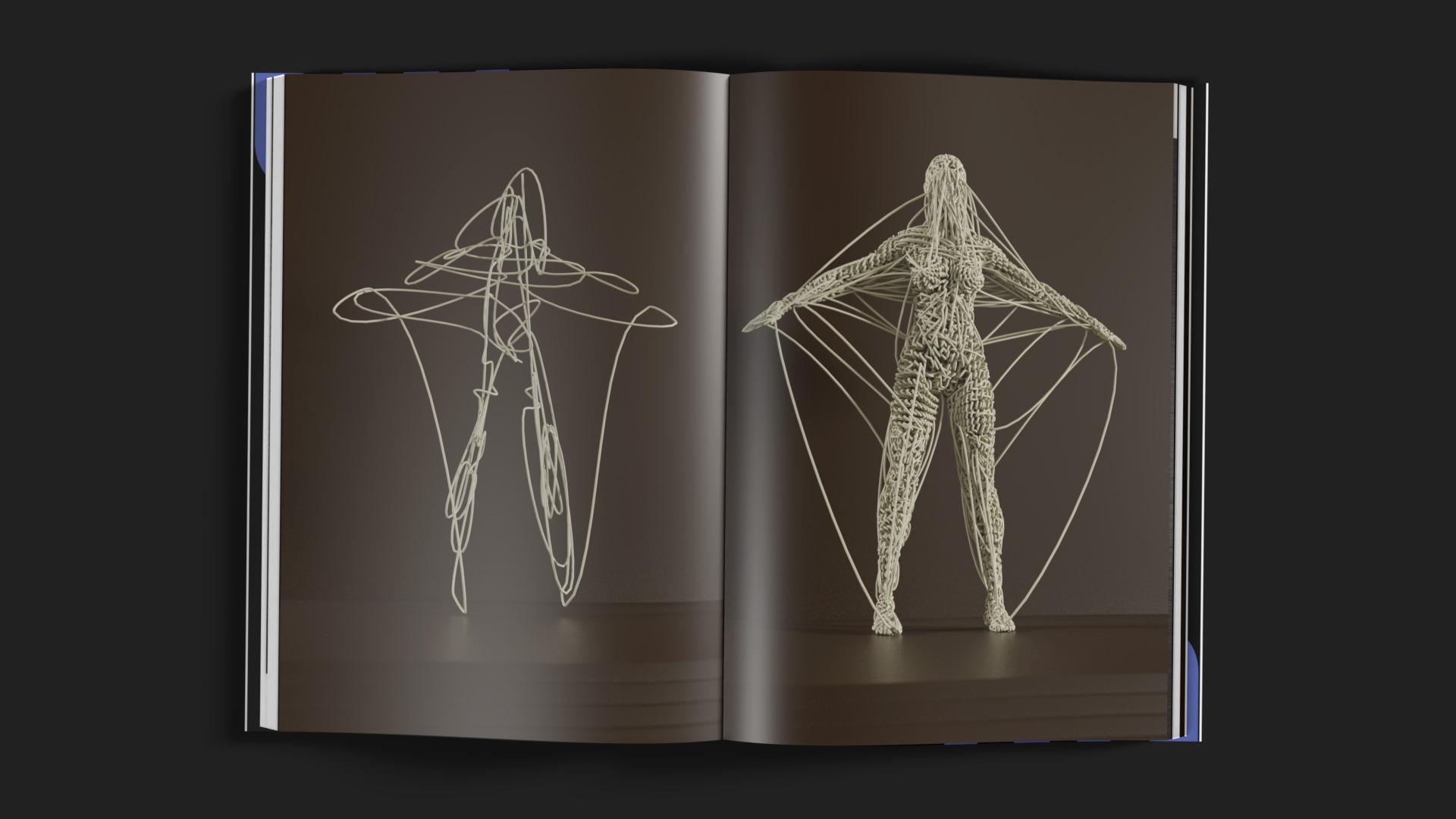 Gebundene Ausgabe des Portfolios der Designagentur OINO