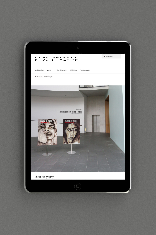 Website mit Online Shop in WordPress kreiert von der Agentur OINO