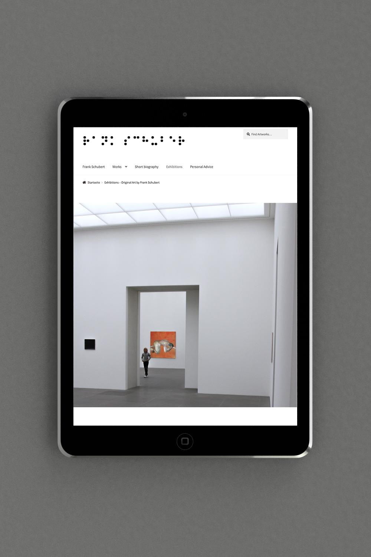 Website mit Online Shop kreiert von der WordPress Agentur OINO