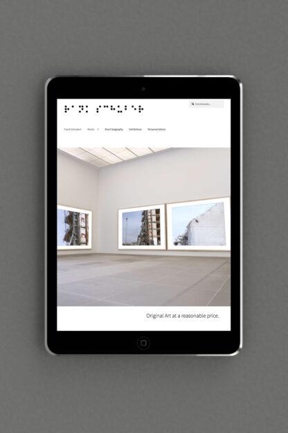 Homepage mit Online Shop in Wordpress kreiert von der Corporate Design Agentur OINO